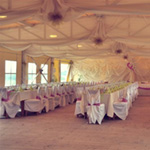 the Party tent (200 guests)